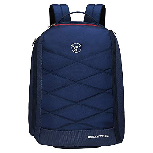 Urban Tribe Fitpack Multipurpose 15.6 Inch| Water Repellent |35 litres | Laptop Backpack for Men and Women (Navy Blue)