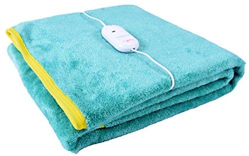 Warmland Polyester Single Electric Bed Warmer - Green