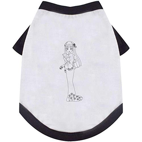 Medium Geisha Hond / Kat / Huisdier T-Shirt (PT00011948)