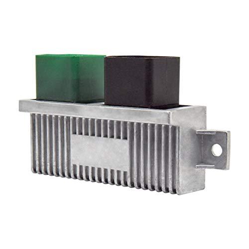 Powerstroke Diesel Glow Plug Control Module Glow Plug Switch for Ford Super Duty F-250 F-350 E-350 Excursion 6.0L 7.3L 6.4L Replaces 1828565C1 YC3Z12B533AA