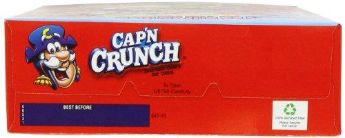 Quaker Cap'n Crunch Cereal 14 Oz, Pack of 2