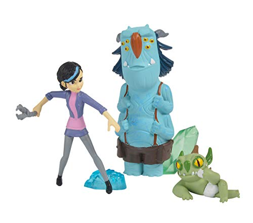 Figuras Claire, Blinky y Notenrique de Trollhunters (Simba 9211002)