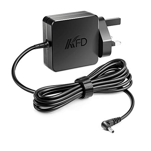 KFD 5V 4A Laptop Adapter for Lenovo IdeaPad 100S-11IBY 80R2,Ideapad 100S 11.6 Portable 5V 20W Power Supply Lenovo Miix 300-10IBY,310-10ICR,320-10ICR, iota One 10.1 Laptop UK Mains Plug Charger