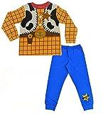 Disney Pijama Buzz Lightyear Niño, Pijama Niño 18 Meses-6 Años Toy Story (3-4 años, Amarillo)