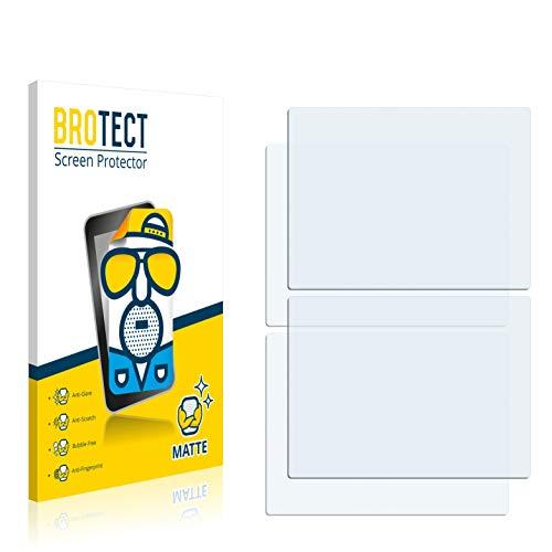 BROTECT 2X Entspiegelungs-Schutzfolie kompatibel mit Nintendo DS Displayschutz-Folie Matt, Anti-Reflex, Anti-Fingerprint