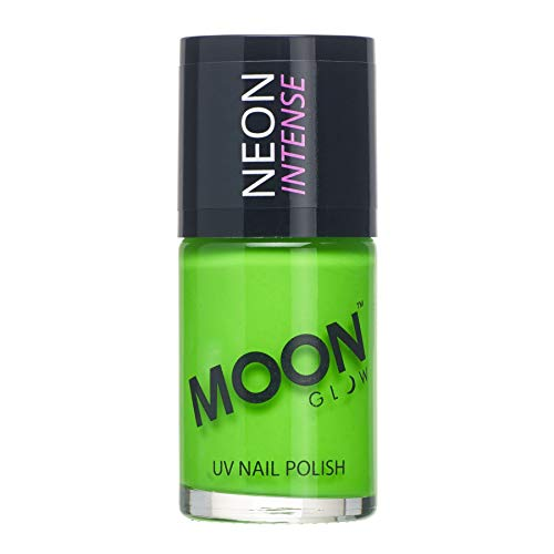 Moon Glow Nagellack UV-Aktiv neongrün 15ml Einheitsgröße