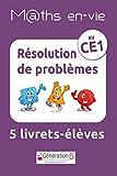 Résolution de problèmes au CE1 M@ths en-vie : 5 livrets-élèves (Maths en-vie)