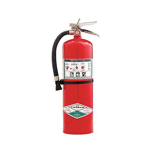 Amerex 398, 15.5lb Halotron I Class A B C Fire Extinguisher
