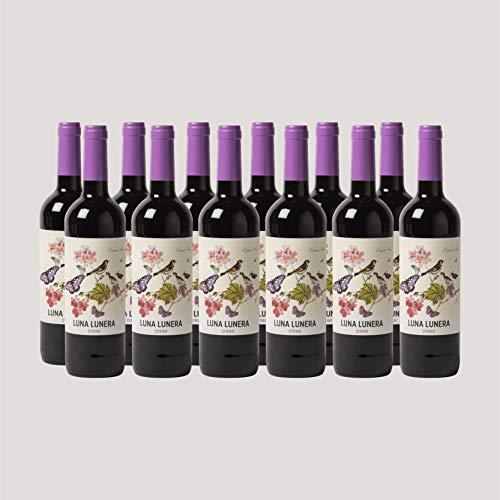 Caja de 6 Botellas de vino Luna Lunera Syrah - Tempranillo