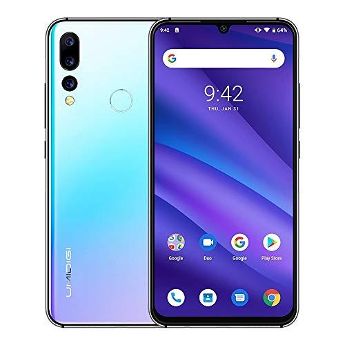 LIUCX Móviles y Smartphones Libres A5 Pro, Global Dual 4G, 4 GB + 32 GB, Triple Volver Cámaras, 4150mAh de la batería, identificación de Huellas Dactilares, de Red: 4G, Dual SIM (Color : Color1)