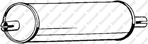 Preisvergleich Produktbild Bosal 176-421 Mittelschalldämpfer