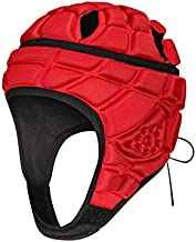 DGXINJUN Soft Shell Protective Headgear Protective Gear Rugby Headguards Padding Padded Helmet Reduce Impact Collision Protection Head Ear Chin jaw