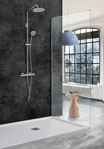 Conjunto ducha termostatica Imex Bled BTB010
