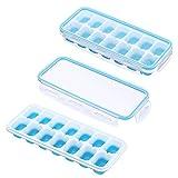 Eiswürfelbehälter mit Deckel - Luftdicht & Wasserdicht