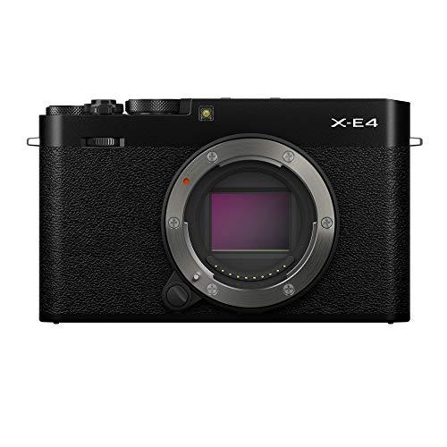 富士フイルム ミラーレスデジタルカメラ X-E4 ボディ ブラック F X-E4-B