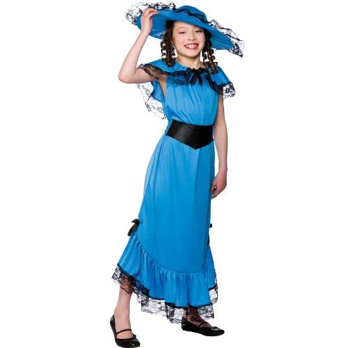Victorian Girl Costume de déguisement taille grande