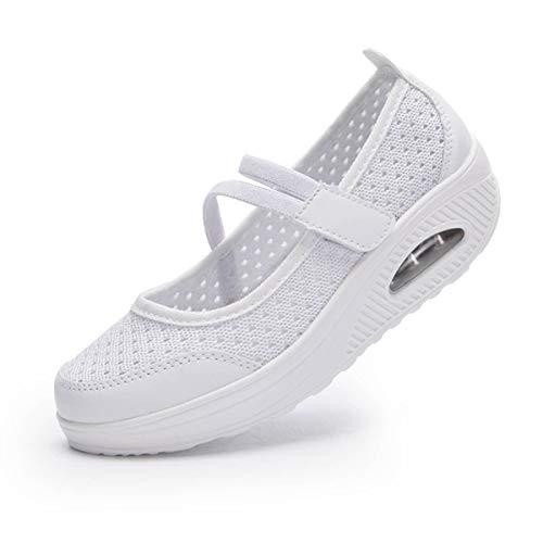 [todaysunny] 船型底ナースシューズ レディース ダイエットシューズ 厚底スニーカー 姿勢矯正 ダイエット 美脚 軽量 レースアップ ウォーキングシューズ 看護師 作業靴 歩きやすい 疲れない 婦人靴