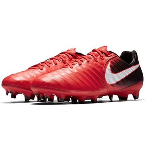 Nike Tiempo Legacy III FG, Scarpe da Calcio Uomo, Rot (Universität Rot/Weiß-Schwarz 616), 42 EU
