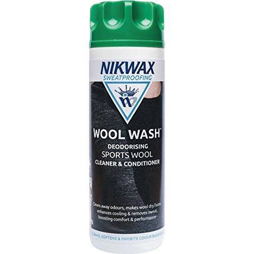 Nikwax Bekleidungswaschmittel Wool Wash, transparent, 300 ml, 302120000