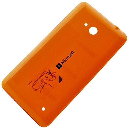 Copribatteria originale, per Microsoft Lumia 640, colore: arancione