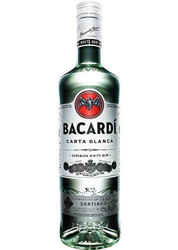 Bacardi Ron Carta Blanca Superior Rum (1 x 0.35 l)