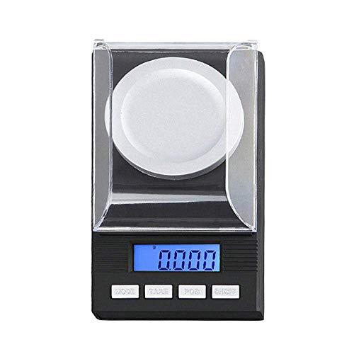 Keuken Thuis Multifunctionele Digitale Keukenweegschaal 10G 20G 50G 100G 001G Hoge Precisie LCD Digitale Weegschalen Persoonlijke Diamant Balans Gewicht Elektronische Zakweegschaal-100Gx0.001G