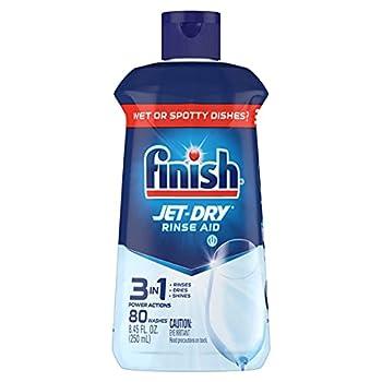Finish Jet-Dry Rinse Aid Dishwasher Rinse Agent & Drying Agent 8.45 Fl Oz