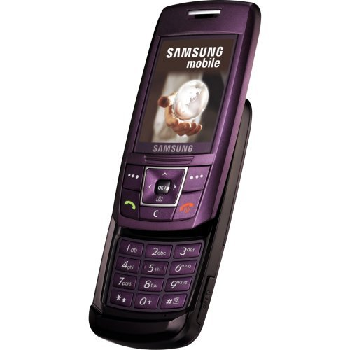 Samsung SGH-E250i Handy Purple