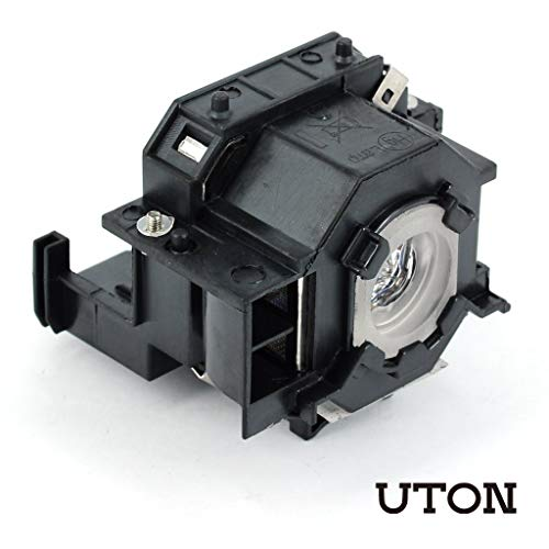 Uton ELPLP41 Replacement Projector Lamp for Epson H283A EX21 EMP-S5 PowerLite S5 77c(Economic)