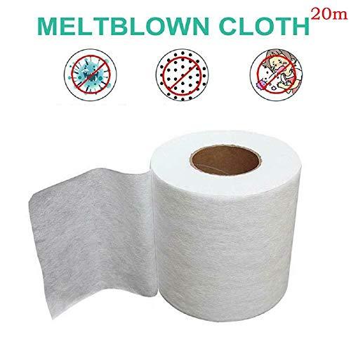 Filter Fabric Melt-Blown Nonwoven Fabric High Filtering Efficiency Dust-Proof /& Waterproof Melt-Blown Filter Cloth Super Fine Melt-Blown Fiber 20m//787.40in