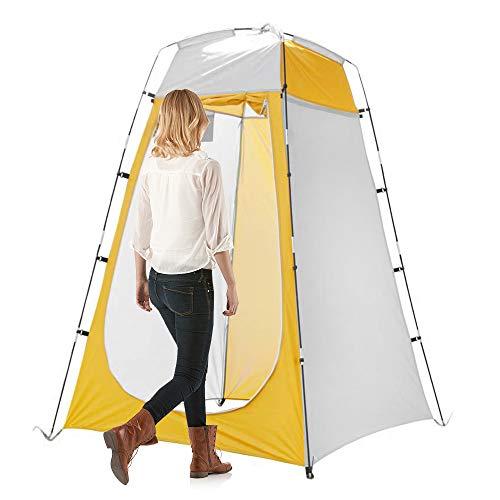 Carpa de ducha portátil para exteriores Protección UV Cuarto de baño Carpa de campamento Refugio de lluvia Vestuario Carpa de privacidad para acampar al aire libre Ciclismo Senderismo Playa con bolsa