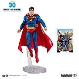 DCコミックス DCマルチバース 7インチ アクションフィギュア 002 スーパーマン Action Comics 1000