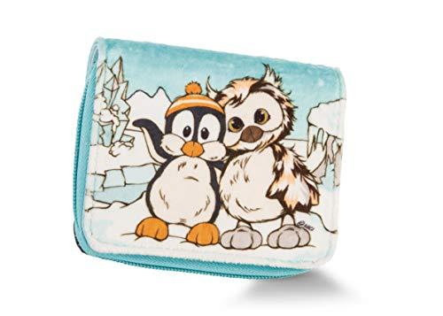 NICI 45748 Geldbeutel Pinguin+Eule, 12x9,5cm