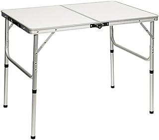 アウトドア 折りたたみ テーブル 90×60cm AL2FT-90 | 2WAY ピクニック アウトドア レジャー キャンプ ロースタイル 高さ 調整 可