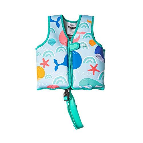 MORAIG - Chaleco Flotador de Ayuda a la flotabilidad Aprendizaje de la natación, Ideal para niños de 11 a 18 kg.(Bajo del mar)
