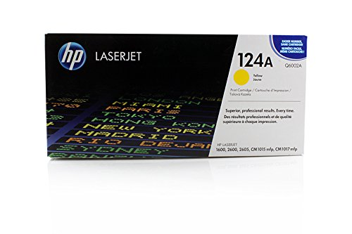 Original HP Q6002A Toner Yellow für HP Color Laserjet 2600 N