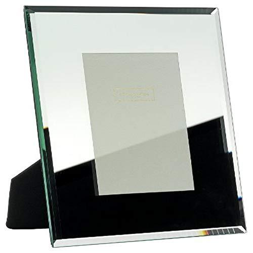 Addison Ross - Cornice portafoto in Vetro specchiato, 13 x 18 cm, con Bordo smussato 8 mm