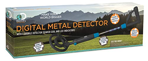 Discovery Adventures DA05 LED Digital Metal Detector, Various