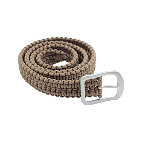 Milspec 53  Overall 550 Paracord 7 Insert Belt with Stainless Steel Buckle