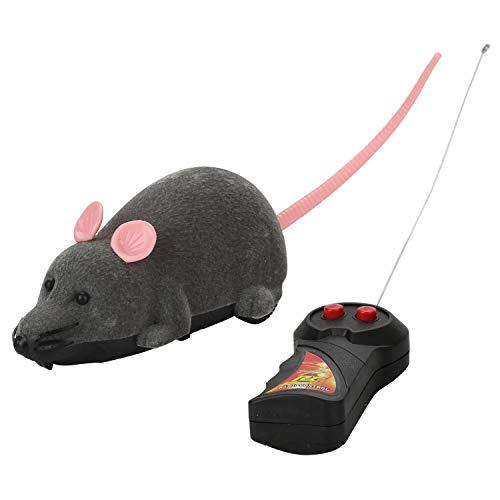 aoory Ratón Mini Robot Inteligente Juguete para Gatos Ratón robótico