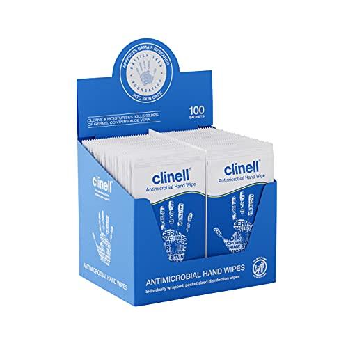 Clinell CAHW100 Handwiper antimicrobico,...