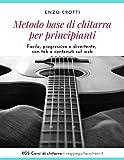 Metodo base di chitarra per principianti: Facile, progressivo e divertente, con tab e contenuti sul web