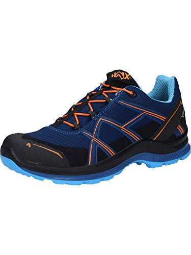 Haix Black Eagle Adventure 2.1 GTX Low/Navy-orange Funktionaler Freizeitschuh mit Gore-TEX. 43