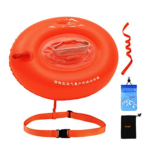 GYJ Bubble, veiligheidszwemmers, veiliger voor zwemmers en triatleten, die buiten zwemmen. Duurzaam nylon.