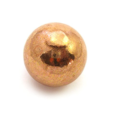Kugel Kupfer gegossen 3 cm