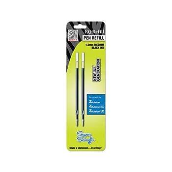 Wholesale CASE of 25 - Zebra Emulsion EQ Pen Refills-Z-Mulsion Ex Refills 10.mm 2/PK Black