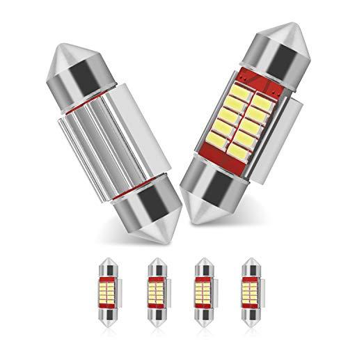 31mm Festoon LED Car Bulb 6pcs, LED Dome Reading Xenon White Bulbs Car...
