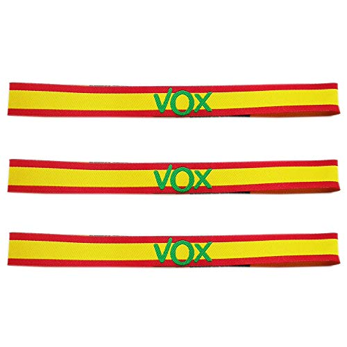LTL 3 x Pulseras de Tela VOX