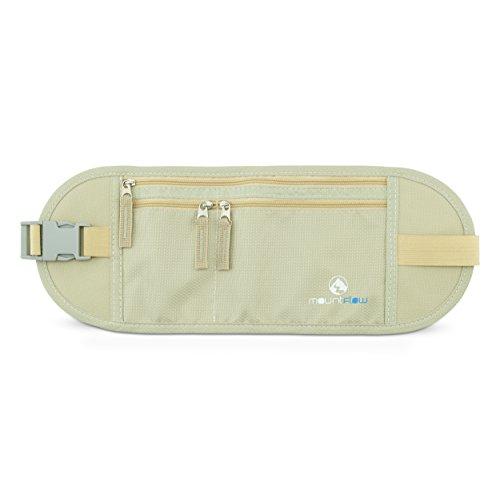 Cinturón de Dinero - Riñonera Interior de Viaje RFID –...