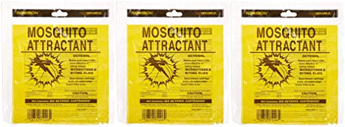 Flowtron MA-1000-6 Octenol Mosquito Attractant Cartridges (3 X Pack of 6)